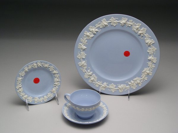 1011: Collection of Wedgwood Dinnerware