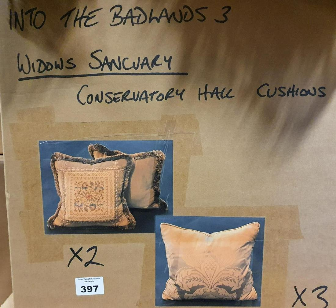 BADLANDS SERIES 3, WIDOW'S SANCTUARY CONSERVATORY HALL: