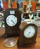 A Regency Mahogany and Brass inlaid Bracket Clock (with
