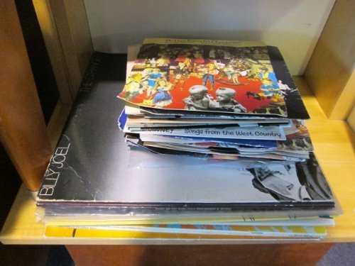A Small Group of LPs, including Billy Joe, Carpenters,