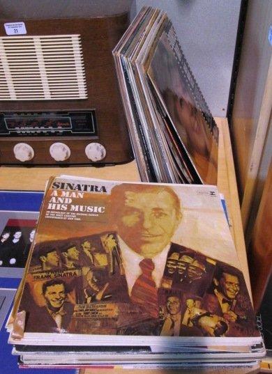 A Group of LPs including Barbara Streisand album, Shirl