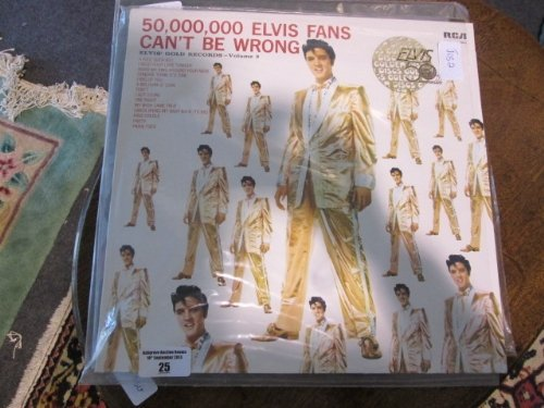 A Quantity of Elvis LPs, approx 47 in total,  Along wit