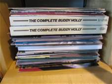 A Quantity of LPs by Chuck Berry, Roy Orbison, and Budd