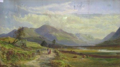 A Watercolour by John Faulkner RHA (Ireland 1835-1894).