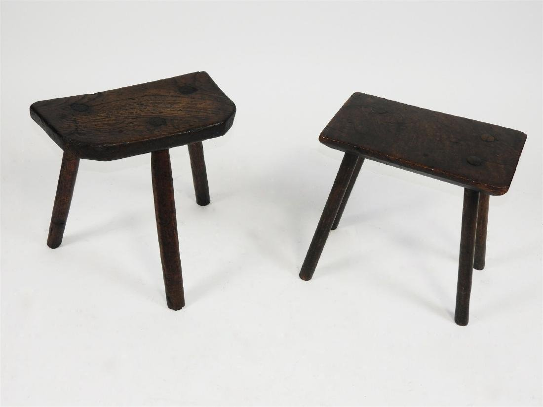 Two vernacular stools