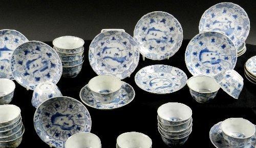 Ca Mau: Thirty landscape panel and trellis pattern tea