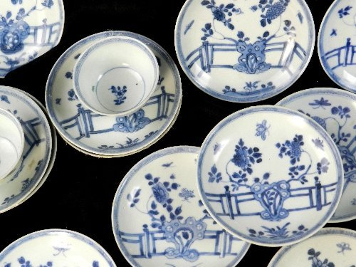 Ca Mau: Forty rocks on a terrace pattern tea bowls and