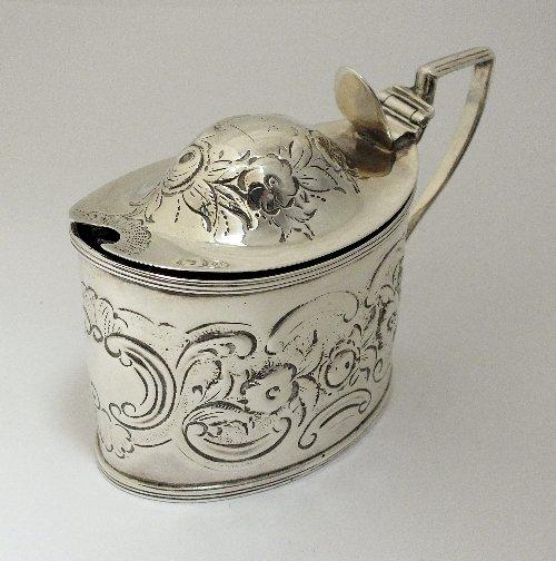 A George III silver mustard, Charles Chesterman II,