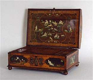 A North European late 17th/ early 18th century walnut