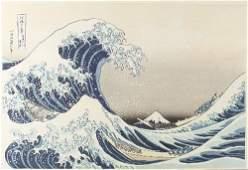 Katsushika Hokusai (1760-1849) 'In the well of The