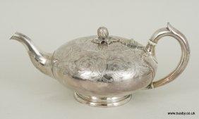 Elkington & Co silver plated tea pot