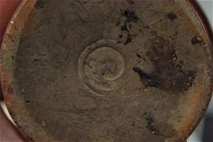 Two early 19th century brown saltglaze stoneware money