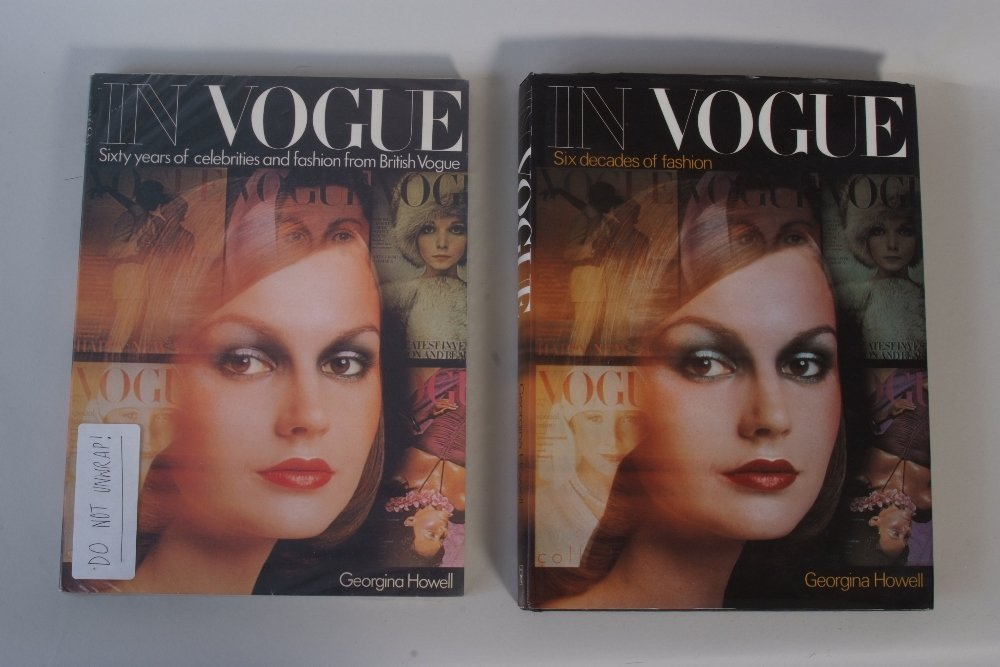 1975 'In Vogue' Book unopened.  And a further hardback