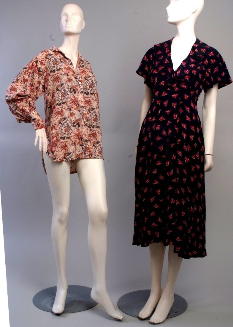 An Early 1970's Lee Bender at 'Bus Stop' London Dress.