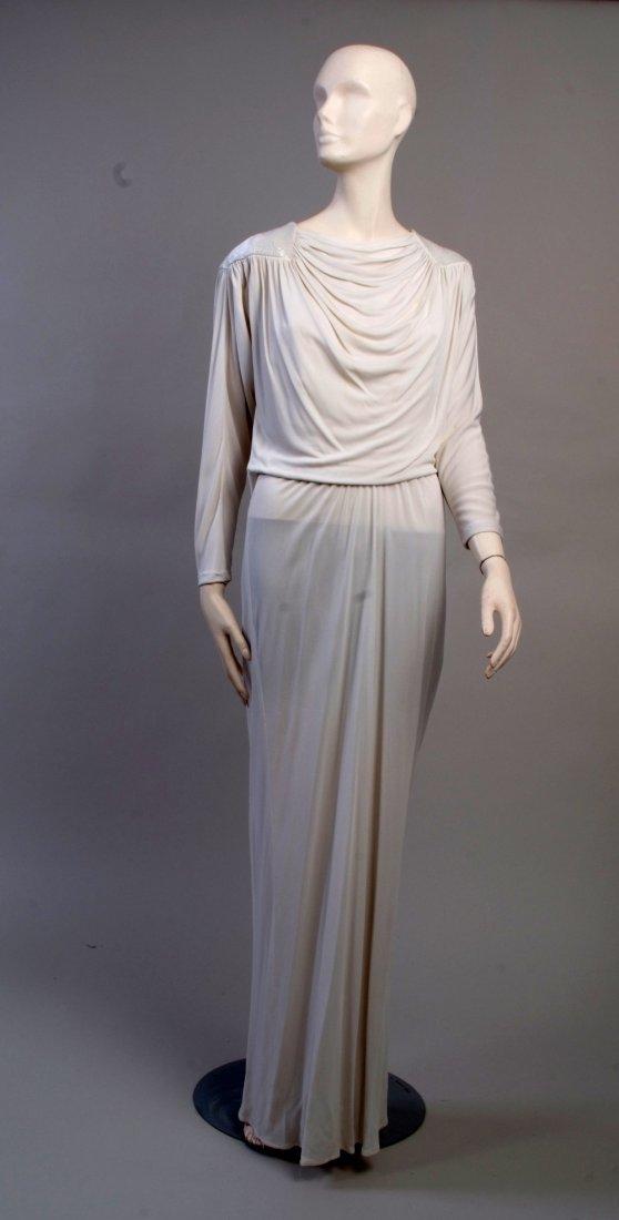 A 1970's Yuki For Liberty Dress.  A Classic draped