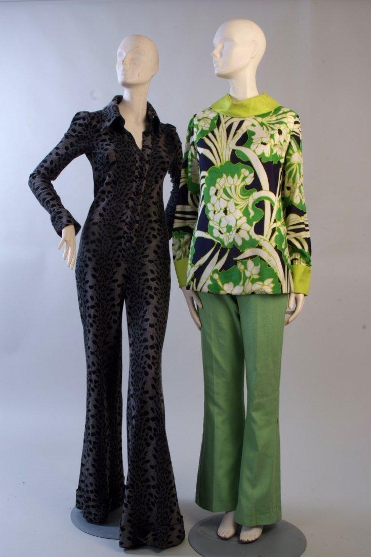 A 1970's Biba Leopard Print Jumpsuit