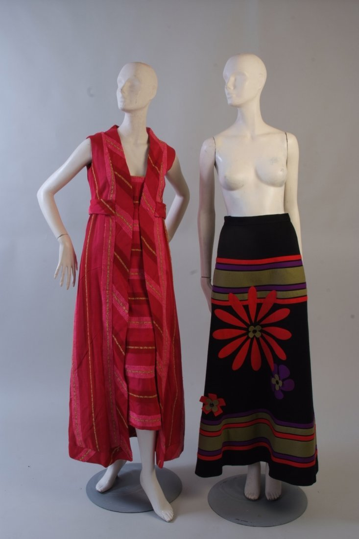 A 1960's Hand Woven Dress.  South American inspired,