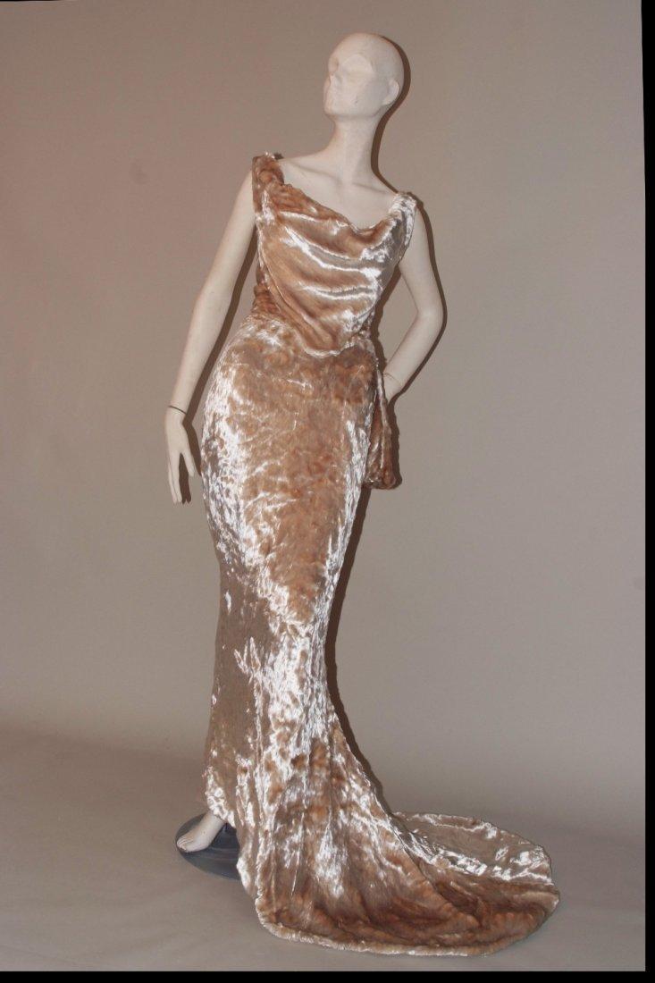 A 1997  haute couture Vivienne Westwood Wedding Dress. - 3
