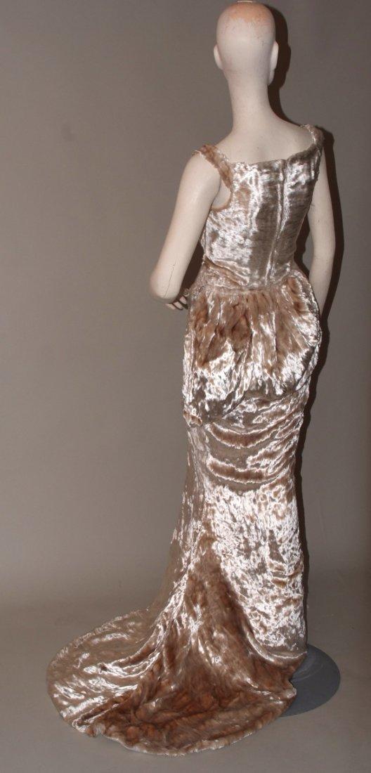 A 1997  haute couture Vivienne Westwood Wedding Dress. - 5
