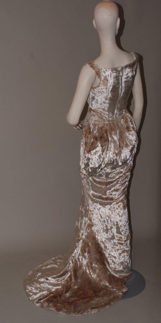 A 1997  haute couture Vivienne Westwood Wedding Dress. - 6