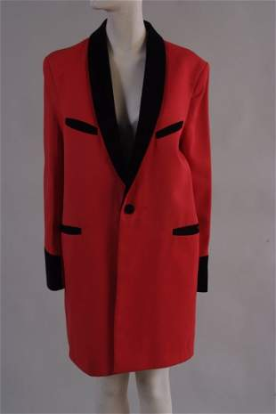 A 1950's Teddy Boy Jacket. Labelled 'pure wool' made