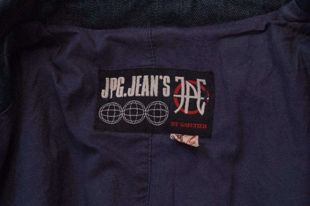 A 'Jean Paul Gaultier' denim tail coat.  A ladies jean - 5