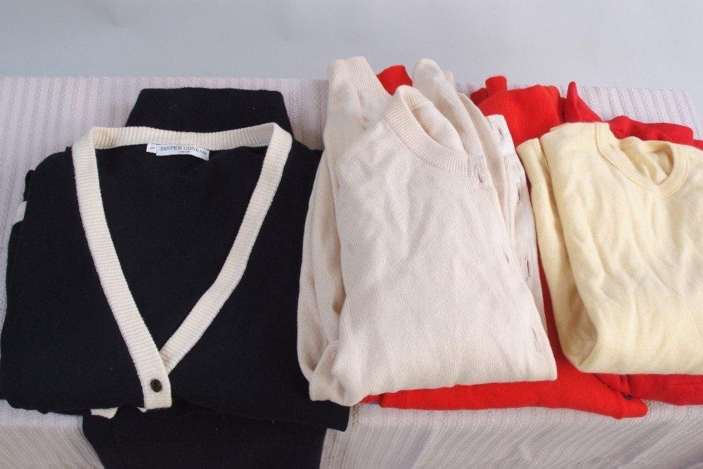 A 1980's 'Jasper Conran' London Cashmere Skirt and