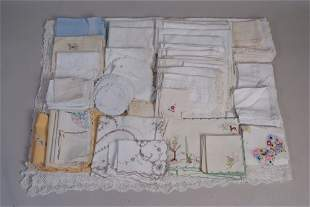 A collection of Assorted Linen. To include quality