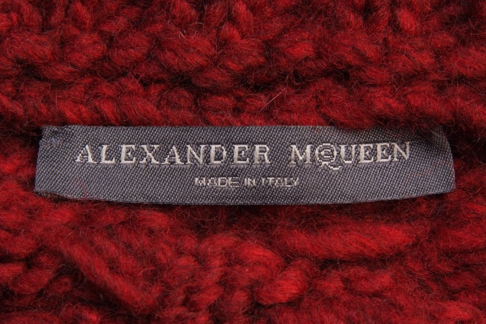 A Rare 'Alexander McQueen' Cable knitted dress. A truly - 10