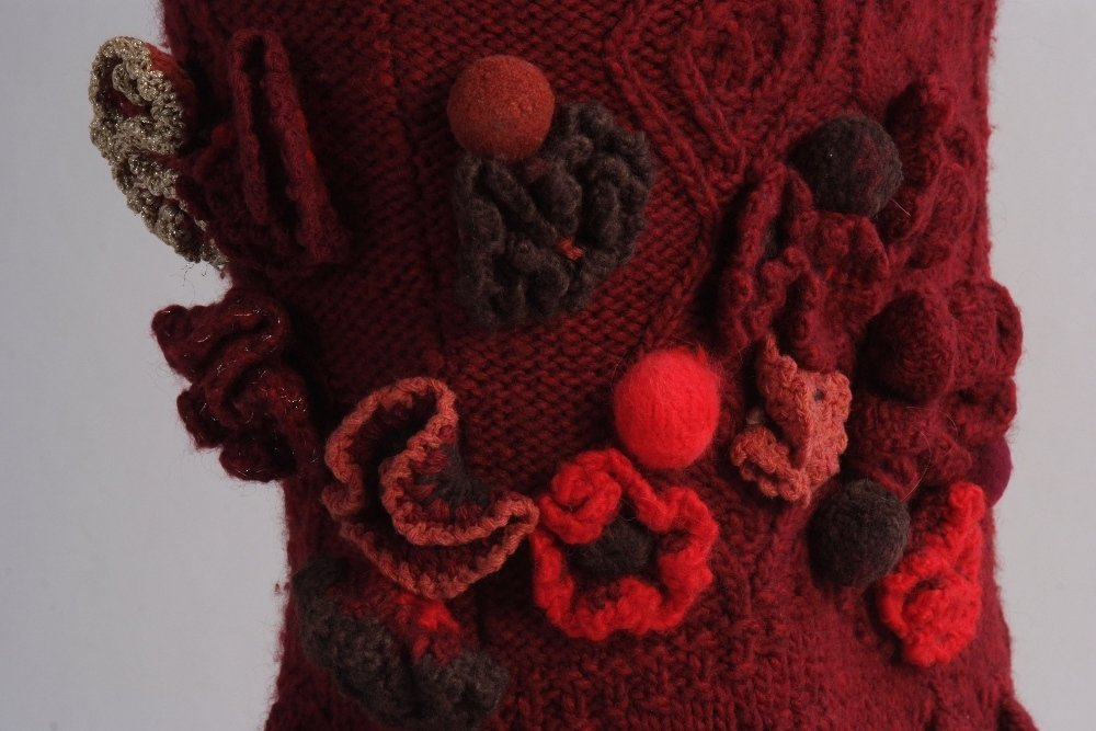 A Rare 'Alexander McQueen' Cable knitted dress. A truly - 5