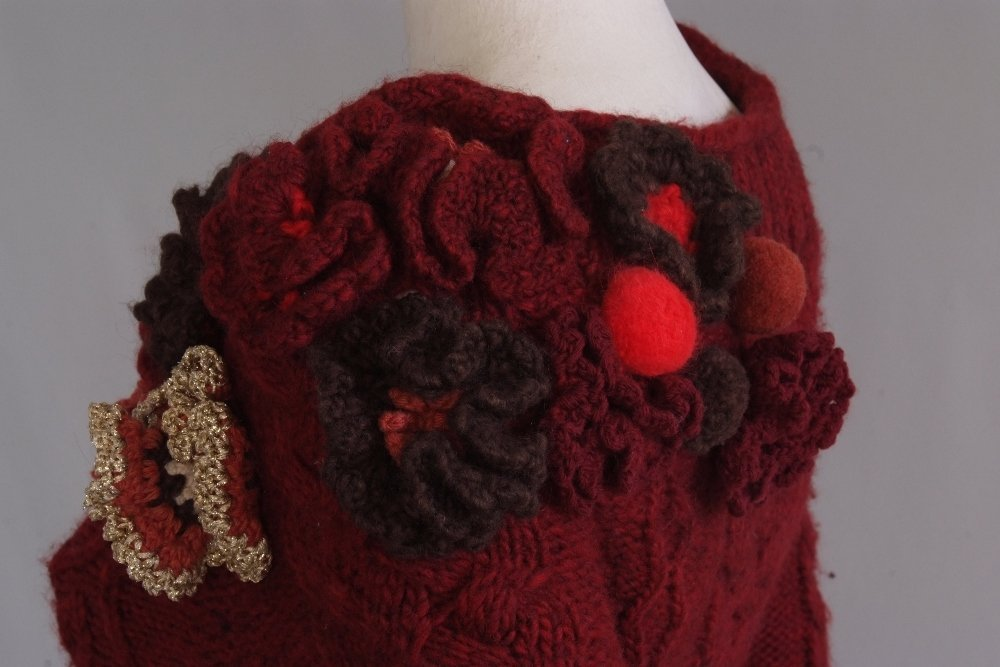A Rare 'Alexander McQueen' Cable knitted dress. A truly - 9