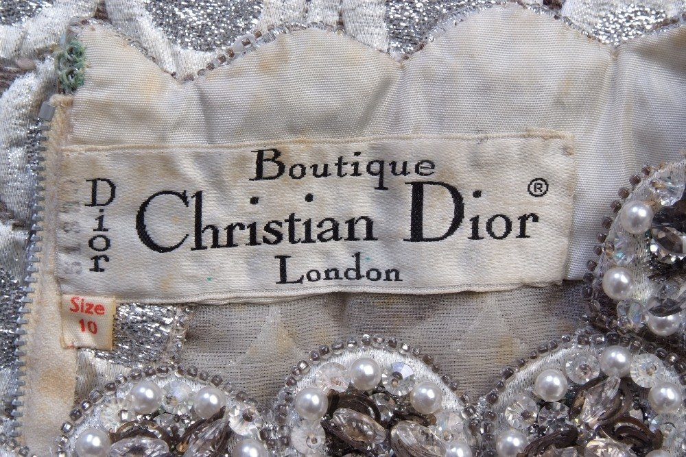 A 1960's Boutique 'Christian Dior' 51330 Cocktail - 8