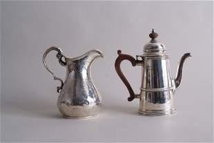 A George V miniature coffee pot, by Adie Brothers Ltd,