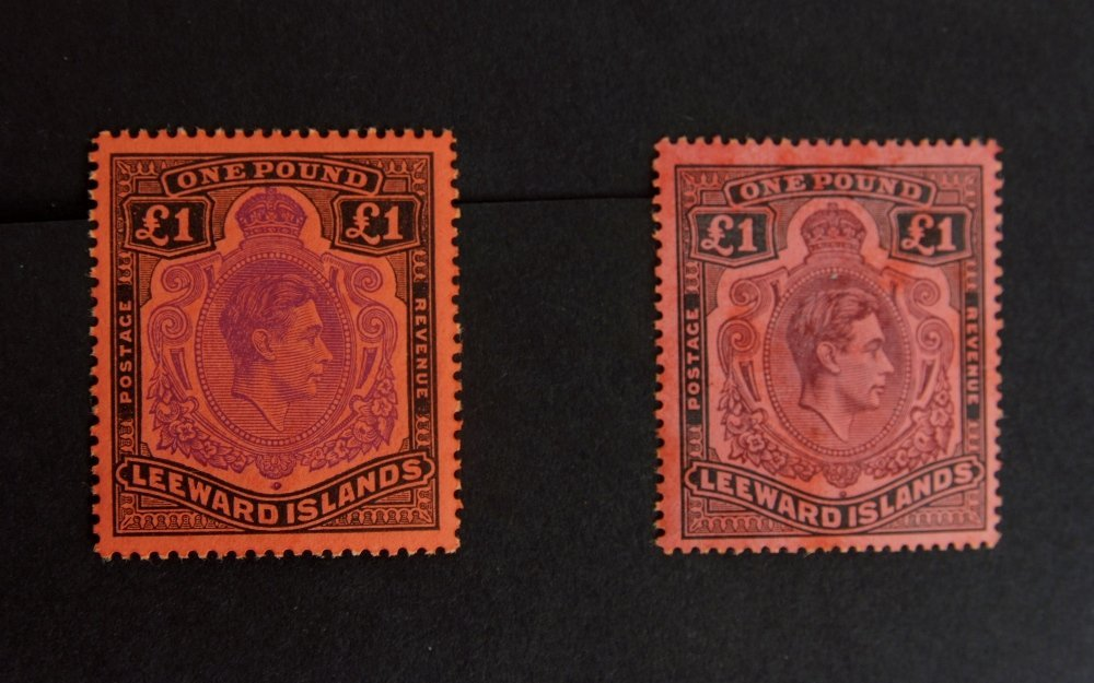 British Commonwealth stamps, the collection is in 10 - 9