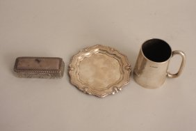 A late Victorian small silver mug, by Colin Hewer,