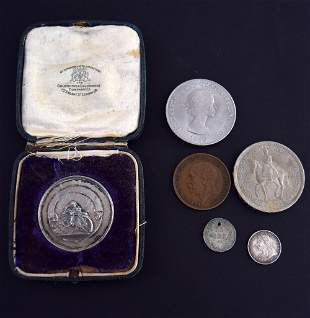 A Mappin and Webb, Birmingham 1922 silver medal for