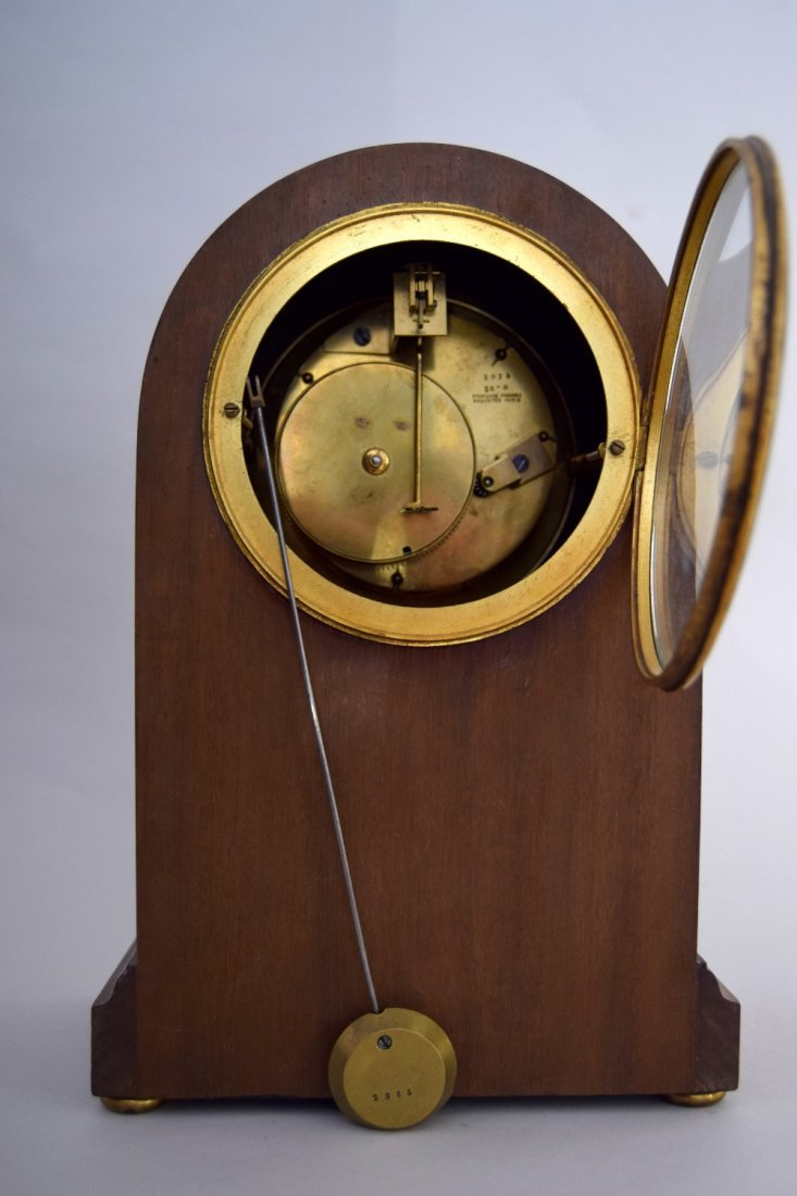 A Francois Frere mantel clock, late 19th century, in an - 2