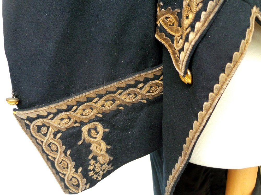 A 19th Century military suit heavily embellished with - 2