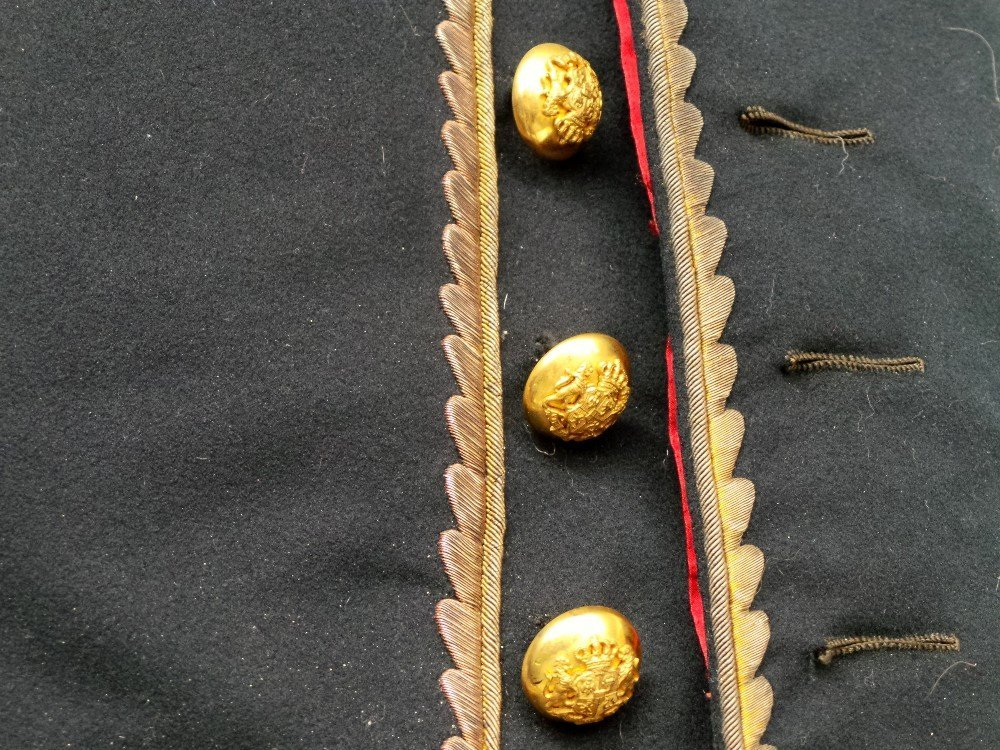 A 19th Century military suit heavily embellished with - 3