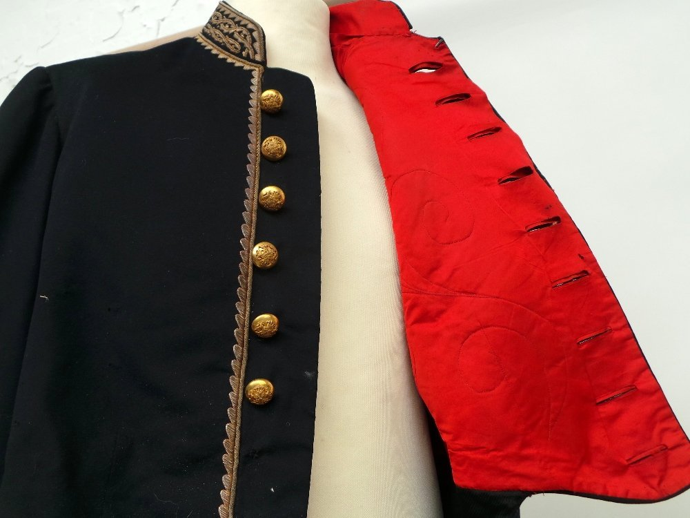 A 19th Century military suit heavily embellished with - 4