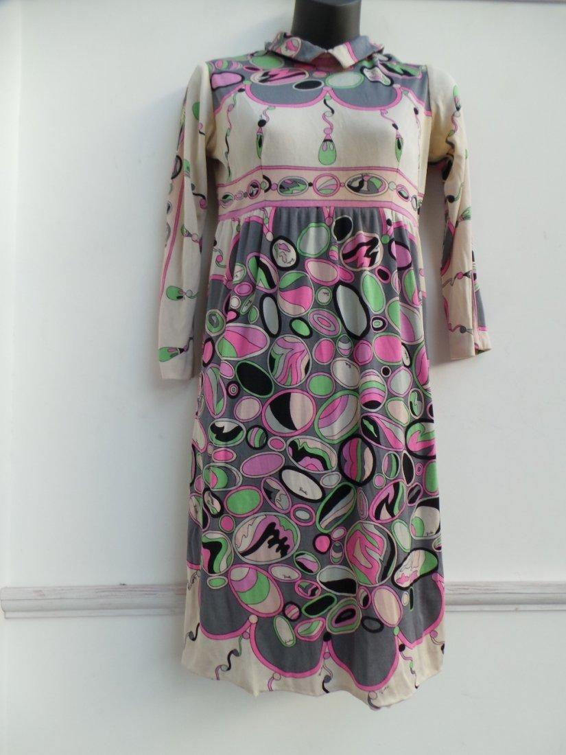 A 1960s 'Emilio Pucci' mini dress