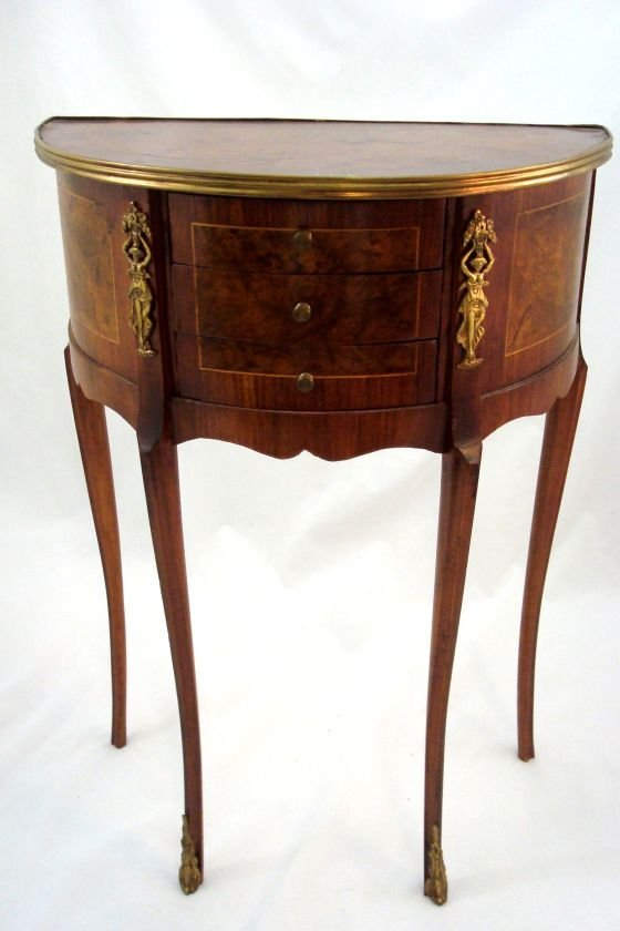 French  Mini Demi-lune table