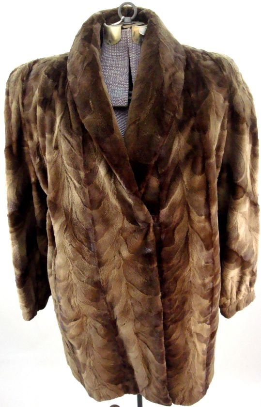 Sheared Mink Walking Jacket
