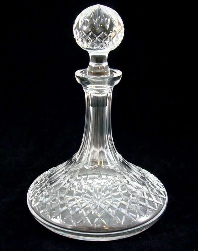 Waterford Cut Crystal Ship's Decanter