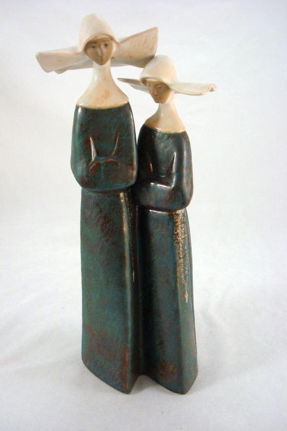 """LLADRO Figure """"The Nuns"""" DAISA"""