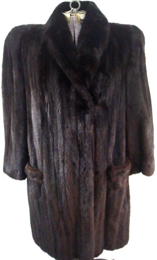 Fabulous Full Length Mink Coat Saks 5th Ave