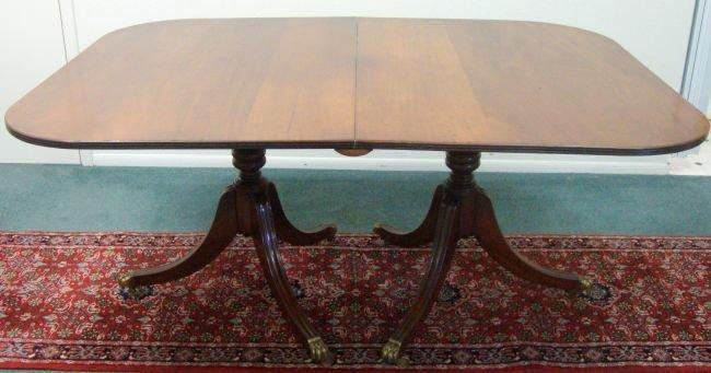 19th C English Regency Dining Table