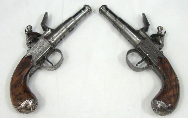 18th Century Flintlock Pistols