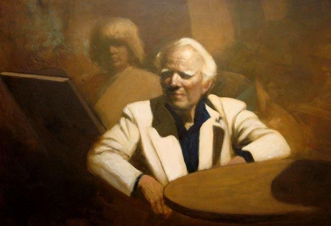 Oil on Panel Jack Leland Bailey (1927-2001)