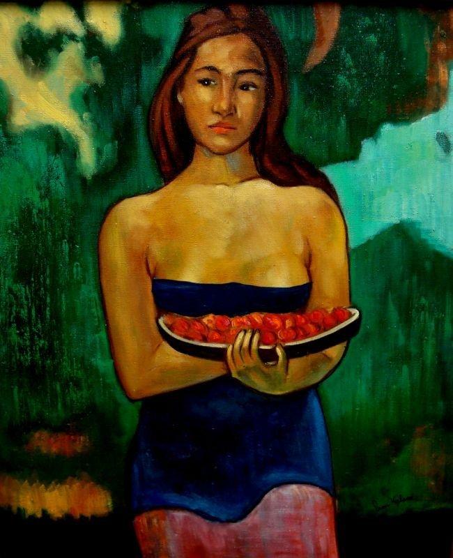 Fran Hyland Tropical Lady